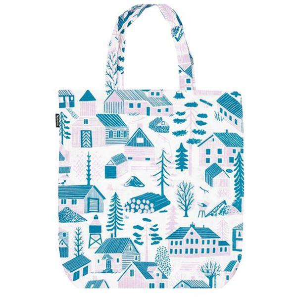 Kauniste's Mökkilä tote bag, blue