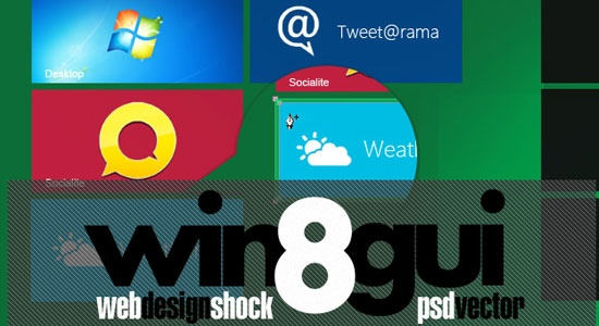 Free Download Full Windows 8 GUI Theme