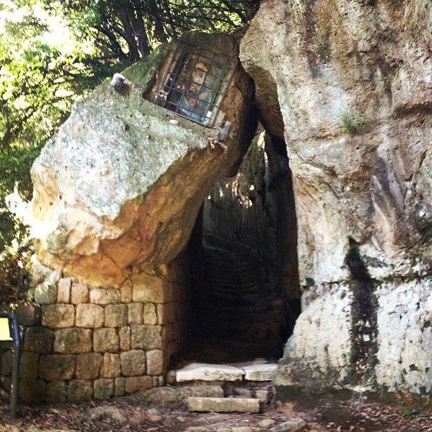 ViaCava di San Giuseppe nel trekking tra Pitigliano e Sovana