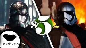 How to Make a Captain Phasma Star Wars Costume   5$ Costume