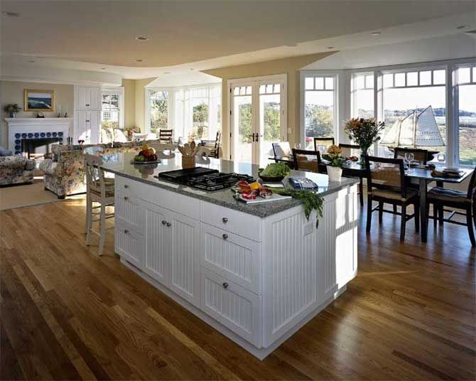 10 images about open plan country homes on pinterest for House plans with large kitchens