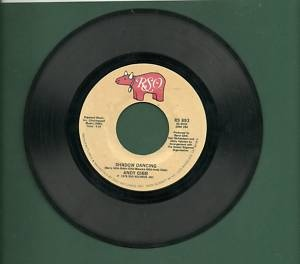 Andy Gibb - Shadow Dancing / Too Many Looks In Your Eyes