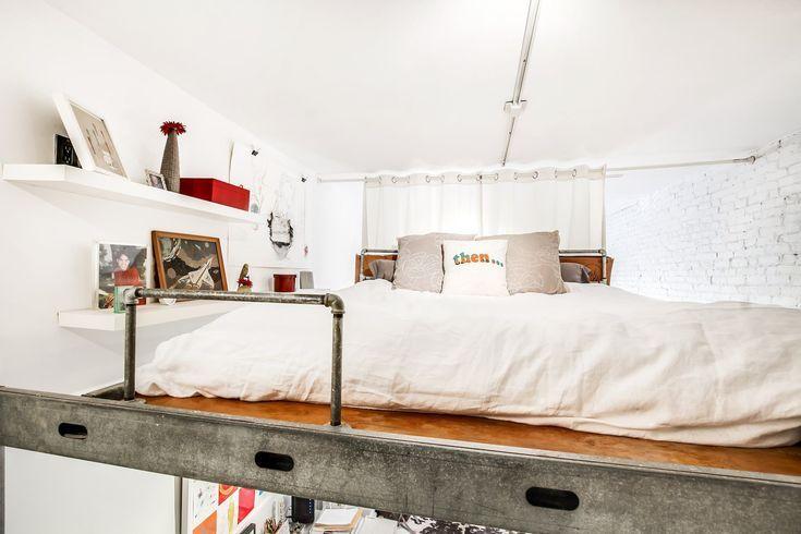 best 25 adult loft bed ideas on pinterest boys loft beds bunkbeds for teens and loft bed storage. Black Bedroom Furniture Sets. Home Design Ideas