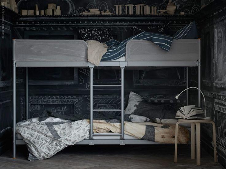 Höstens coolaste tweenierum har just fått en extra våning. Nyheten TUFFING säng har en innovativ konstruktion där undersängen skapar mer utrymme för barnen när de vill hänga med kompisarna efter skolan.