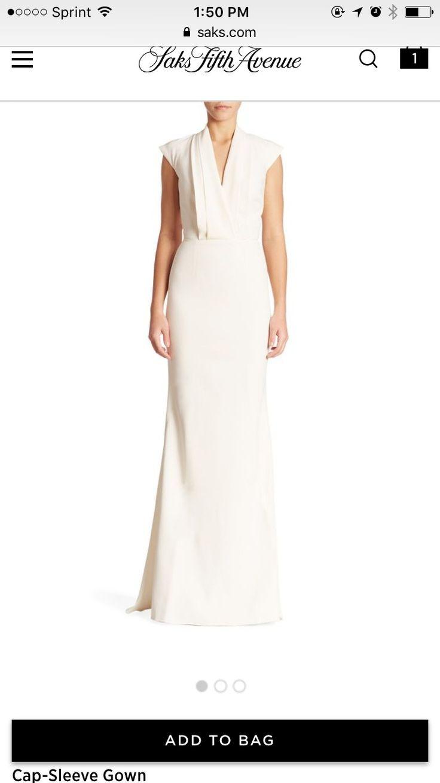 Alexander McQueen Cap sleeve gown  Wedding Dress on Sale 61% Off