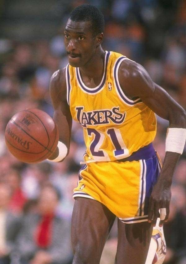 Michael Cooper Los Angeles Lakers Basketball Nba Legends Showtime Lakers