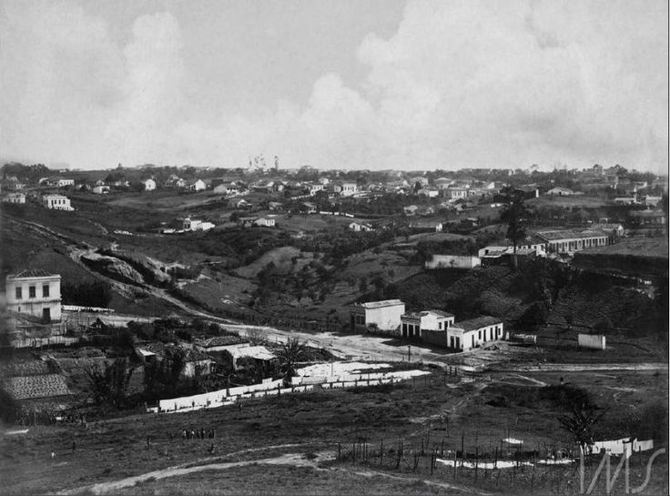 O Vale do Saracura, registrado pelas lentes de Vincenzo Pastore, c. 1910. Acervo do IMS
