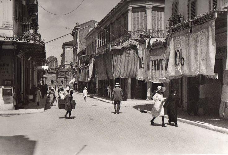 Αθήνα, οδός Ερμού 1920 - Athens, Ermou street 1920