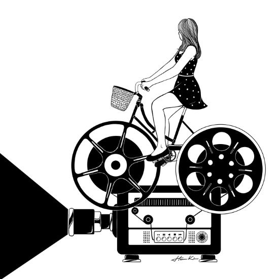 Cinema Paradiso Art Print by Henn Kim