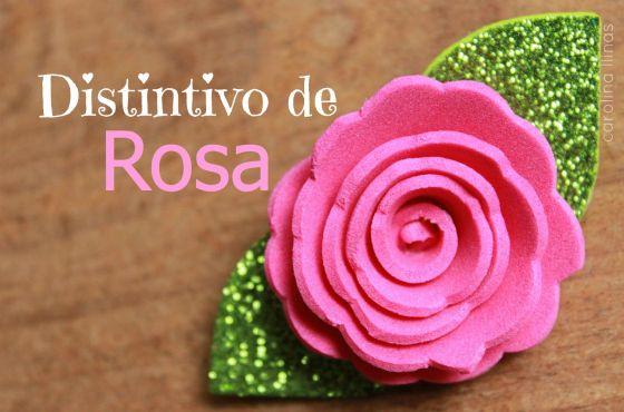 Distintivo de ROSA para Baby Shower | Blog de BabyCenter