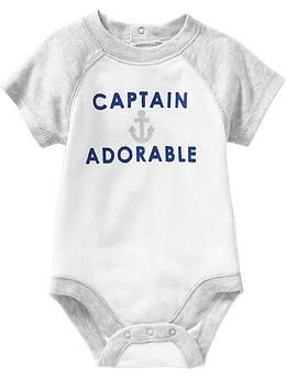 Nautical-Graphic Bodysuits for Baby   Old Navy  http://oldnavy.gap.com/browse/product.do?cid=54061&vid=1&pid=953653012