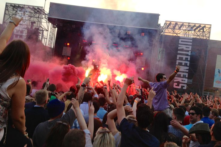 The Courteeners at Castlefield