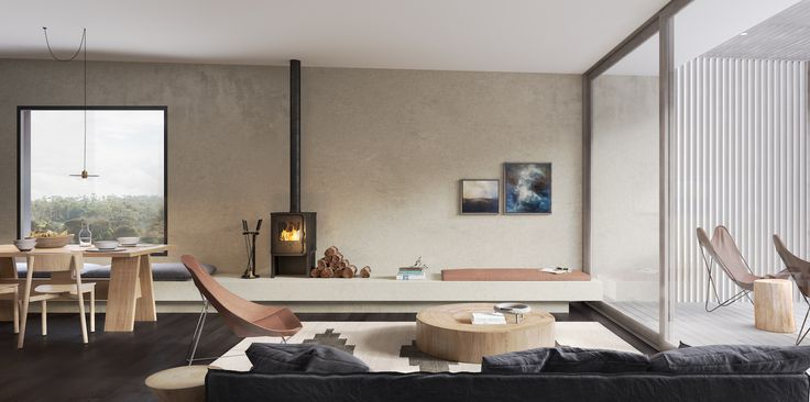 Piermont Retreat Properties   JCB Architecture + Hecker Guthrie   est living
