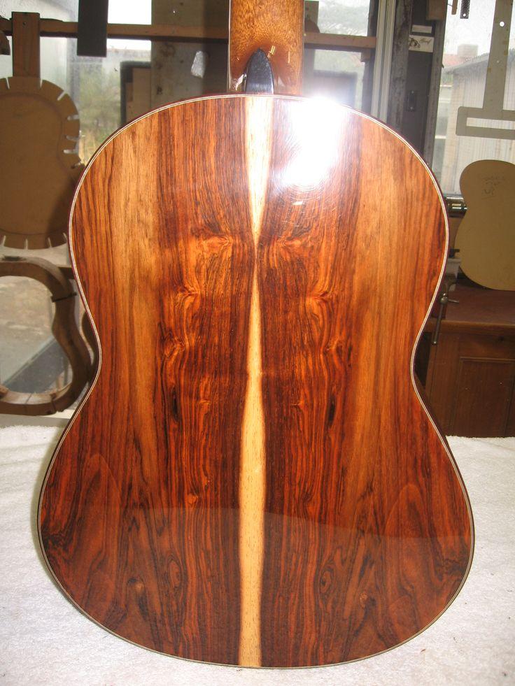 Classical guitar in Brazilian Rosewood. Domenic Roscioli Guitars.