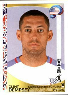 Clint Dempsey of the USA. 2016 Copa America card.
