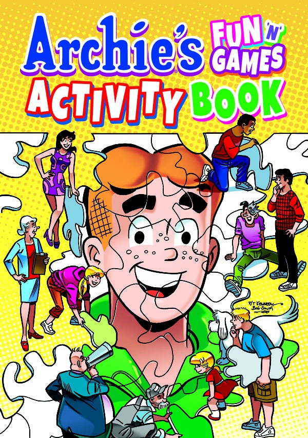 ON SALE TODAY: Archie Fun 'N' Games Activity Book. Get this entertaining puzzle book today at a comic shop near you! www.comicshoplocator.com