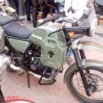 Royal Enfield Himalayan Army Green Seen At A Dealership