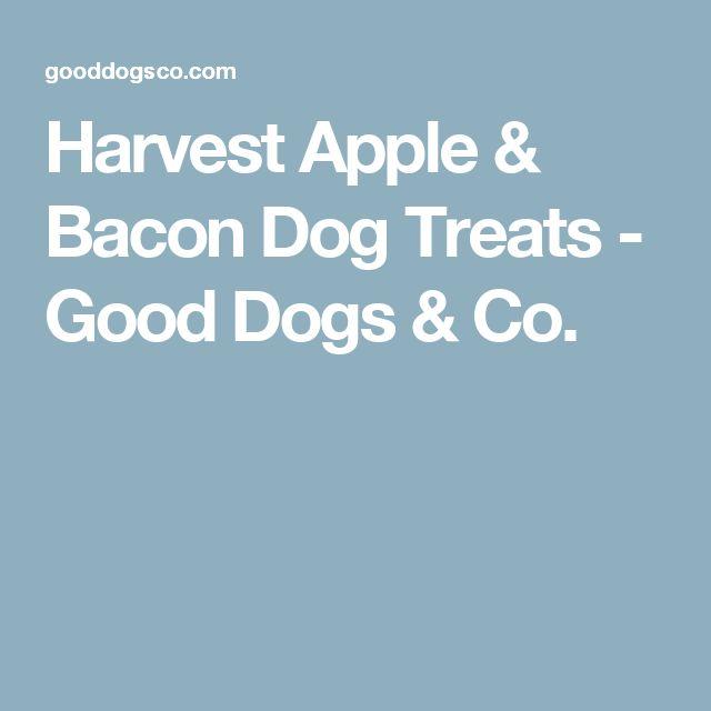 Harvest Apple & Bacon Dog Treats - Good Dogs & Co.