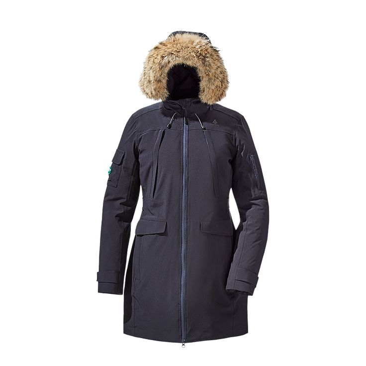 Specifically designed to combat the severe conditions unique to the Canadian landscape, the Louise Women's Down Parka is built to armour against the northern elements. The jacket's full-coverage DownTek™ goose down combined with a 100% waterproof and windproof Sympatex® membrane will keep you warm and dry when chasing urban or outdoor expeditions.