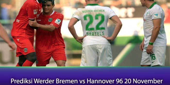 Prediksi Werder Bremen vs Hannover 96 20 November
