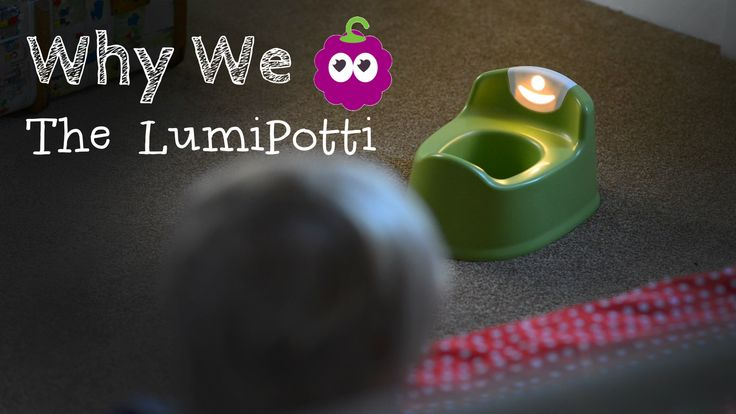 Why we love the #lumipotti #pottytraining #toilettraining