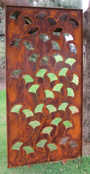 Ginko   Garden Screens Justin Takas Could Make This!