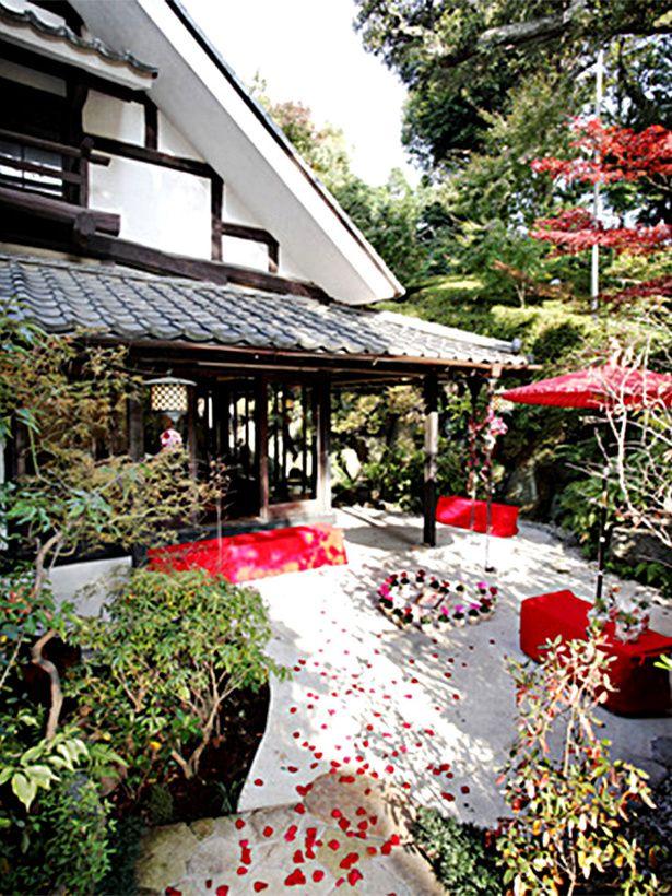 石焼料理 木春堂 幽玄な自然美に包まれた、撮影にも最適なロケーション