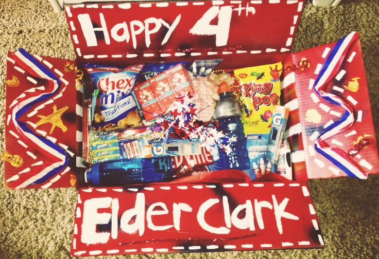 4th of July missionary package.