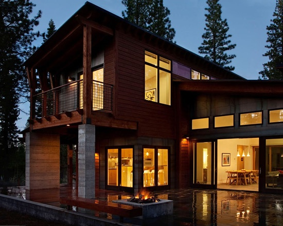 Exterior Design, Pictures, Remodel, Decor and Ideas - page 603: Dreams Houses, Modern Cabins, Modern Prefab, Home Ideas, Balconies Design, Houses Ideas, Home Architecture, Mountain Modern, Houses Design
