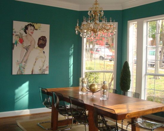 Dining room teal room design pictures remodel decor and for Dining room ideas teal