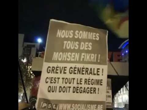 Bruxelles en solidarité avec le peuple marocain