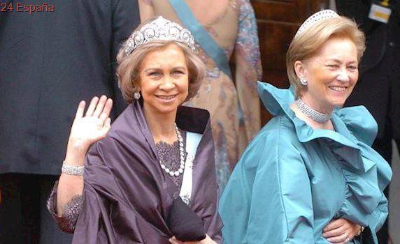La reina Paola, hospitalizada de nuevo por una fractura de cadera