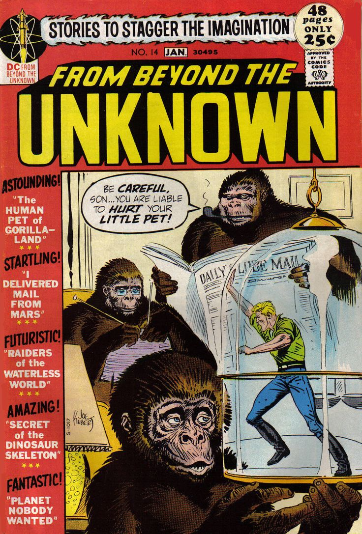 The Human Pet Of Gorillaland  From Beyond The Unknown #14 (january