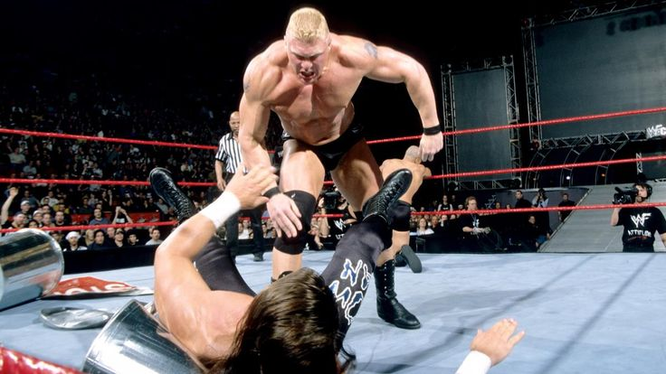 Brock Lesnars athletische Vergangenheit: Fotos