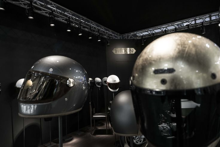 """Hedon Helmets @ Eicma 2017 """"when form and function come together seamlessly, style is effortless."""" #hedon #workshop #helmets #eicma #2017"""