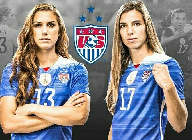 Tobin Heath & Alex Morgan