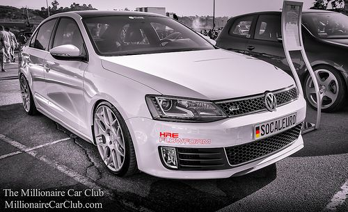 VW GLI on HRE Performance Wheels at MillionaireCarClub.Com