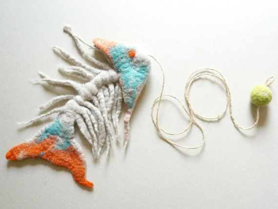 Hey, I found this really awesome Etsy listing at https://www.etsy.com/listing/232096755/cat-toy-felted-cat-toy-fish-skeleton