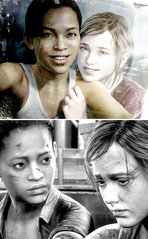 Riley + Ellie: We fight for every second we get to spend with each other. Whether its two minutes… or two days… we don't give that up. I don't want to give that up. #lastofus