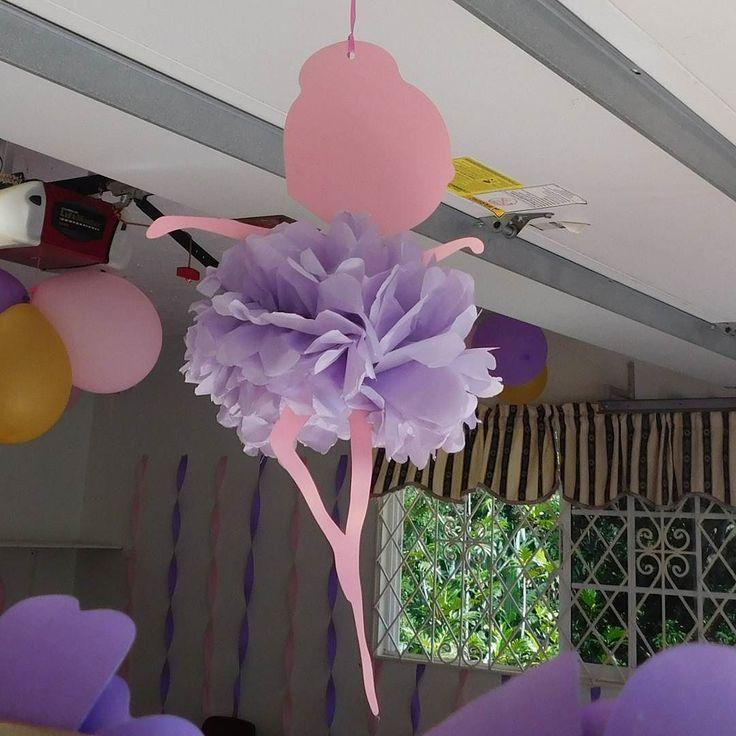 Custom hanging ballerina decor #ballerinadecor #ballerinaparty #partydecor #madeinjamaica #buyjamaican #teamjamaica #jamaica #irepjamaica #jamaican #jamaicansmallbusiness #gabster #mandeville #irepmandeville #mville  DM for more  information by gabster.876