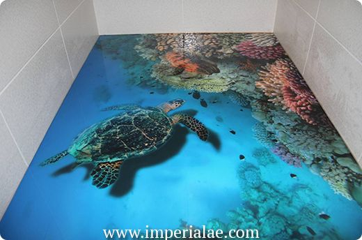 14 Amazing floors that look like water, the ocean, and more - Gallery | eBaum's…                                                                                                                                                                                 More