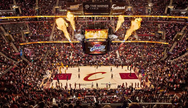 Cleveland Cavaliers :: Quicken Loans Arena Official ...