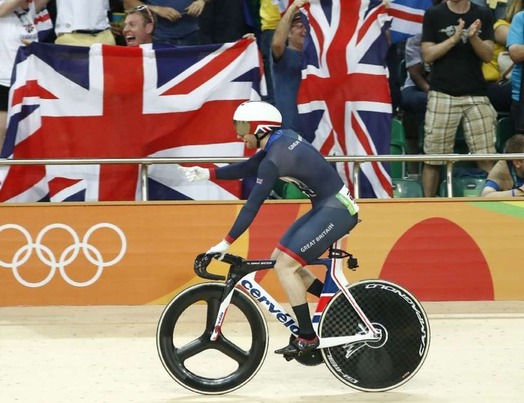 Olympic rivals question Britain's mystery cycling advantage:  August 16, 2016  -     Britain's Jason Kenny celebrates after winning the Keirin finals track cycling…