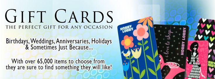 Hobby Lobby - Hobby Lobby GIFT CARD! Yes please!!