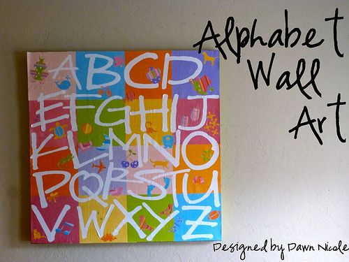 Silhouette Cameo tutorialCanvas Ideas, Pottery Barn, Canvas Alphabet