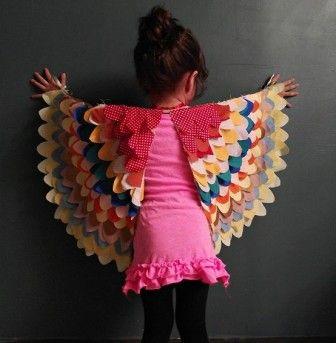 Çocuklar için kuş kostümü