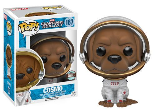 Funko releasing Cosmo pop vinyl figure from Guardians of the Galaxy