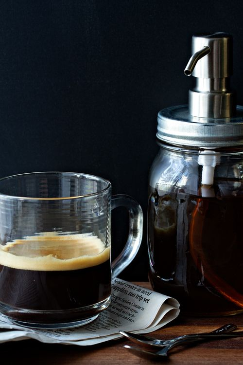 Homemade Vanilla Coffee Syrup | My Baking Addiction