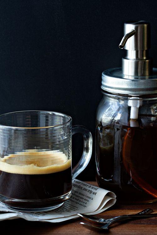 Homemade Vanilla Coffee Syrup | My Baking Addiction