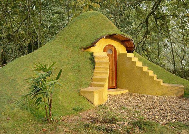 Casa bajo tierra  #casas #houses  casas_raras  original_houses